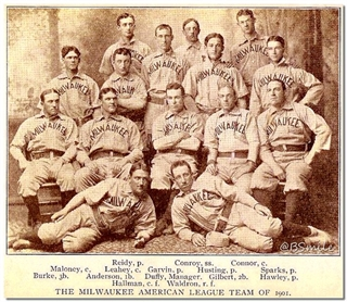Founding of the American League by Irish Americans
