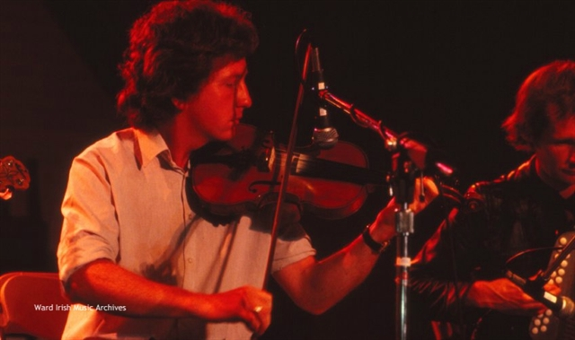 Frankie Gavin at Milwaukee Irish Fest 1981