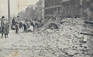 Postcard from the 1916 Irish Rebellion