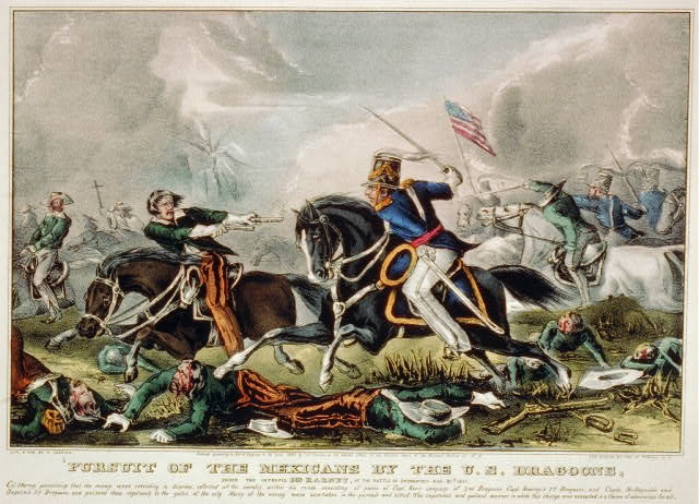 Library of Congress - Battle of the Churubusco