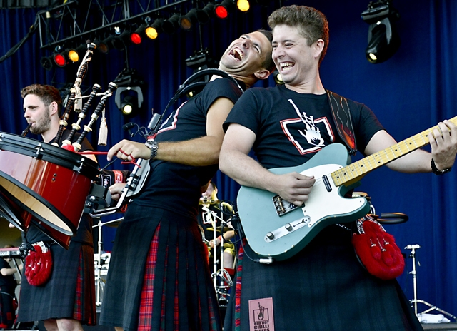 Red Hot Chilli Pipers at Tosa Tonight Irish Fest Preview